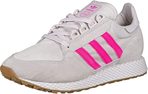 b4f418faff adidas Women's Forest Grove W Gymnastics Shoes, Multicolour Orchid Tint  S18/Shock Pink/
