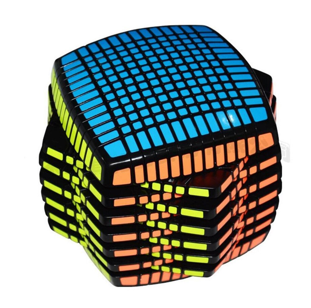 QTMY World First Mass Produced 13x13x13 Speed Magic Cube Puzzle Black