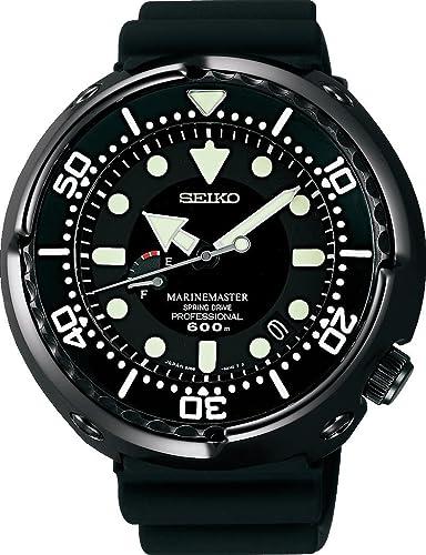 Seiko Prospex SEA Marinemaster Spring Drive Professional SBDB013 Reloj de Pulsera para hombres Reloj de Buceo: Amazon.es: Relojes
