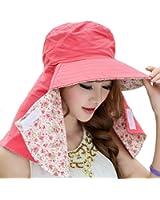 COCONUTS 日よけ帽子 日焼け防止 日よけカバー 紫外線対策 リバーシブル 綿100%