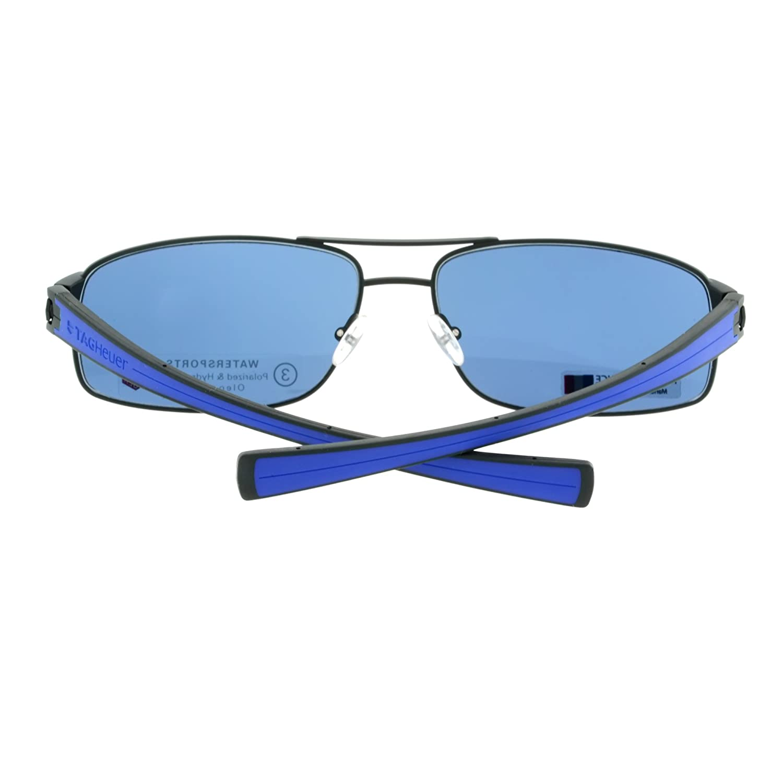 adbead3a64c3 Amazon.com  Tag Heuer LRS 0255-404 Cobalt Blue Black   Watersport Lens   Clothing