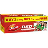 Dabur Red Paste - 200 g (Pack of 2) with Free Red Paste - 100 g