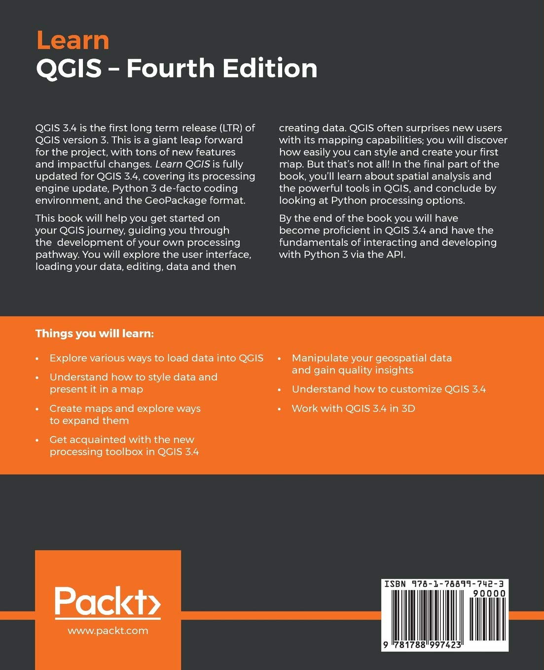 Learn QGIS: Your step-by-step guide to the fundamental of
