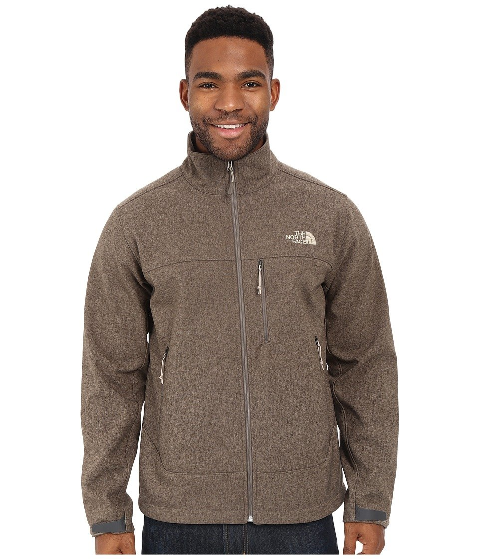 The North Face Apex Bionic Soft Shell Jacket – Men 's B01597NEQ0 M|Weimaraner Brown Heather Weimaraner Brown Heather M