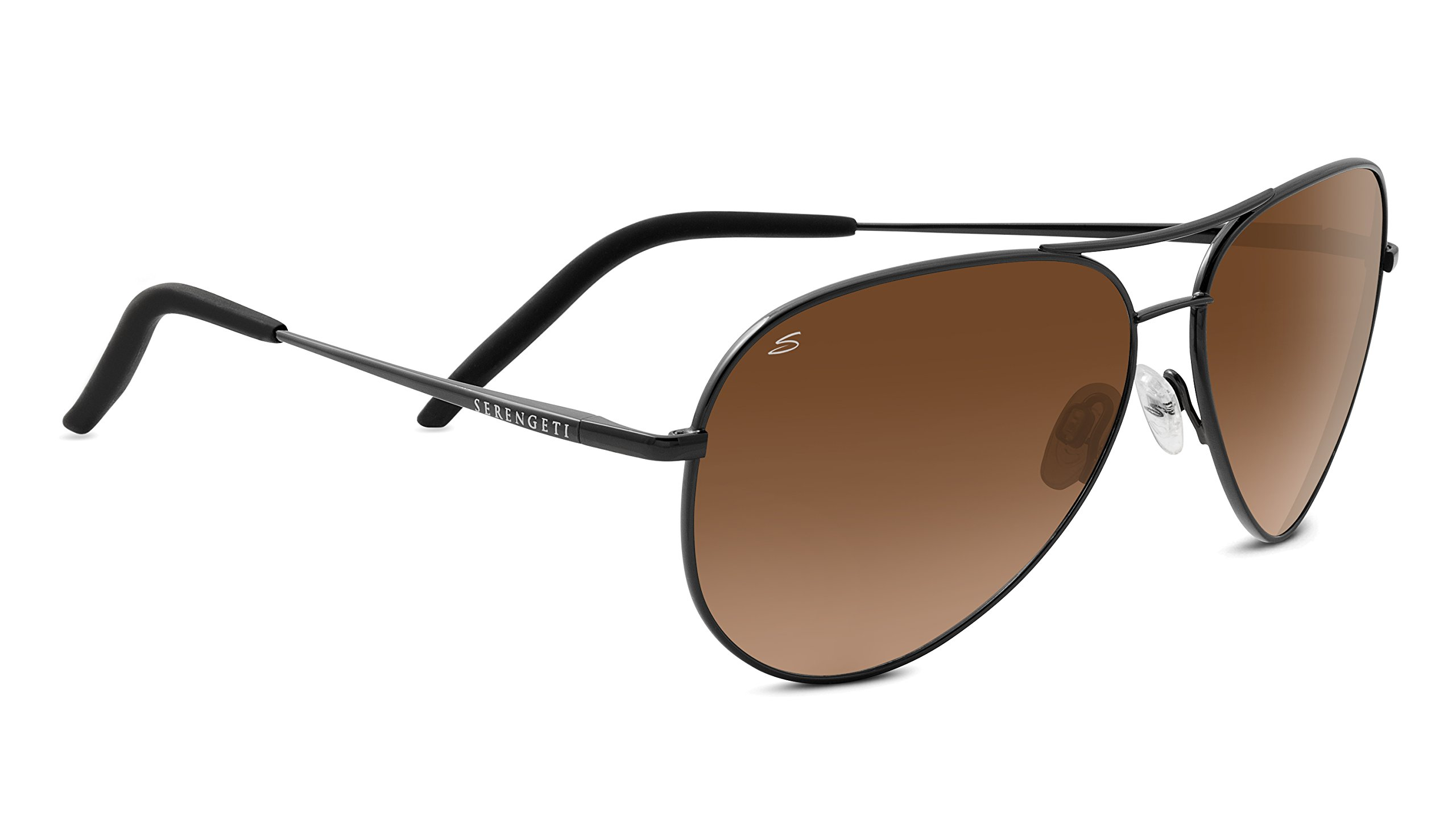 Serengeti Carrara sunglasses, Satin Dark Gunmetal