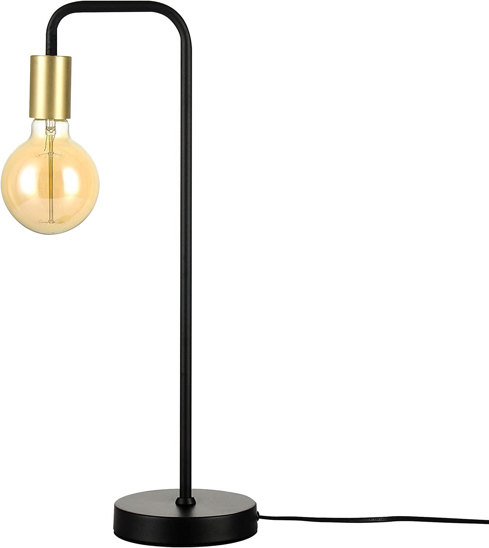 ampoule incluse Lampe /à poser Ys/é noire