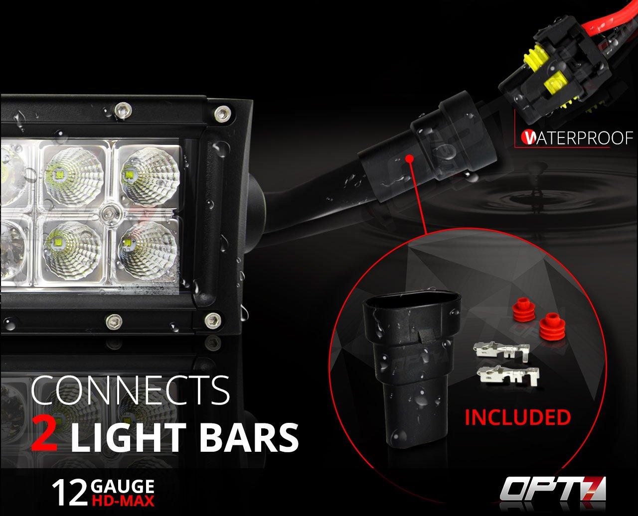 Primelux Universal Relay Wiring Harness For Led Light Bars Driving Work Lights Fog 2