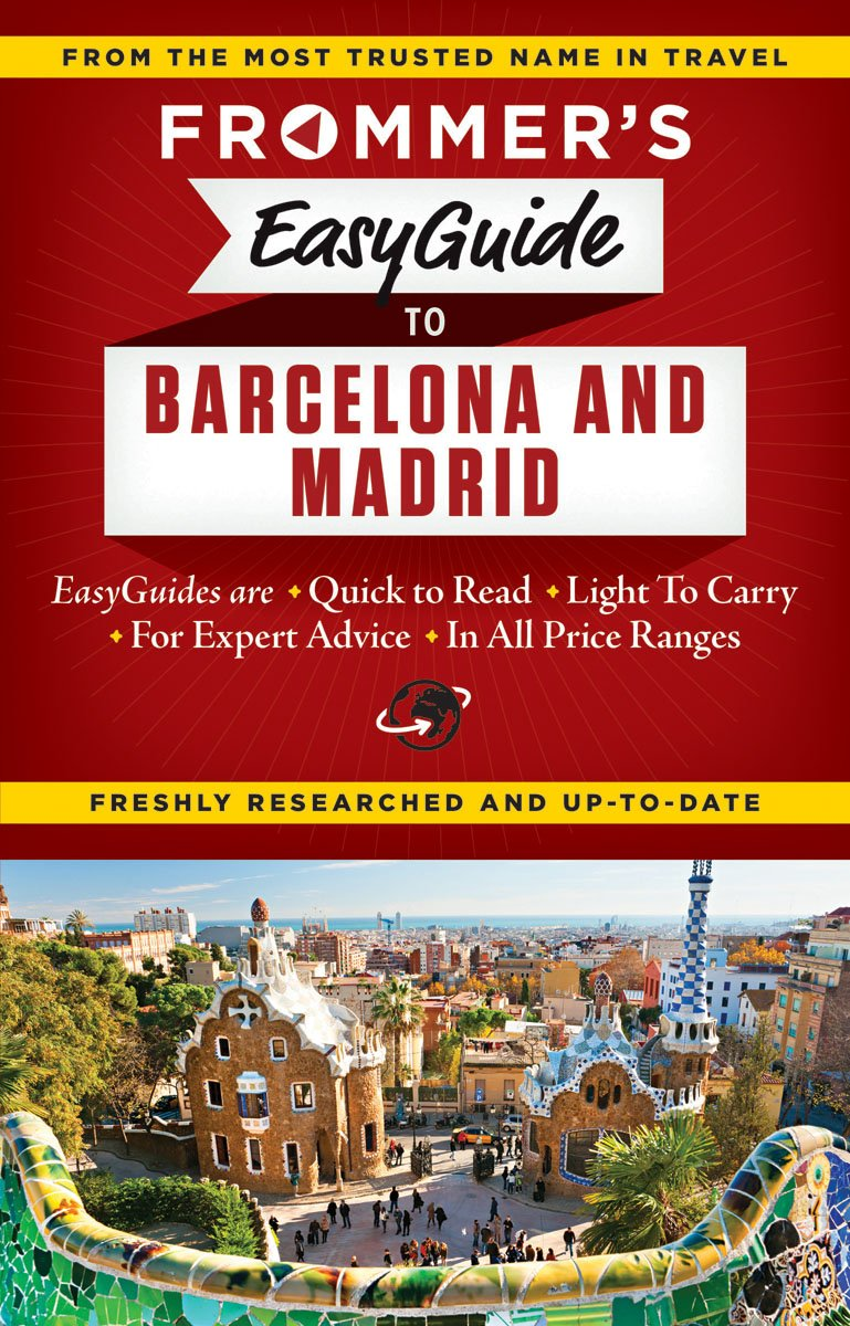 Frommers EasyGuide Barcelona Madrid Guides product image