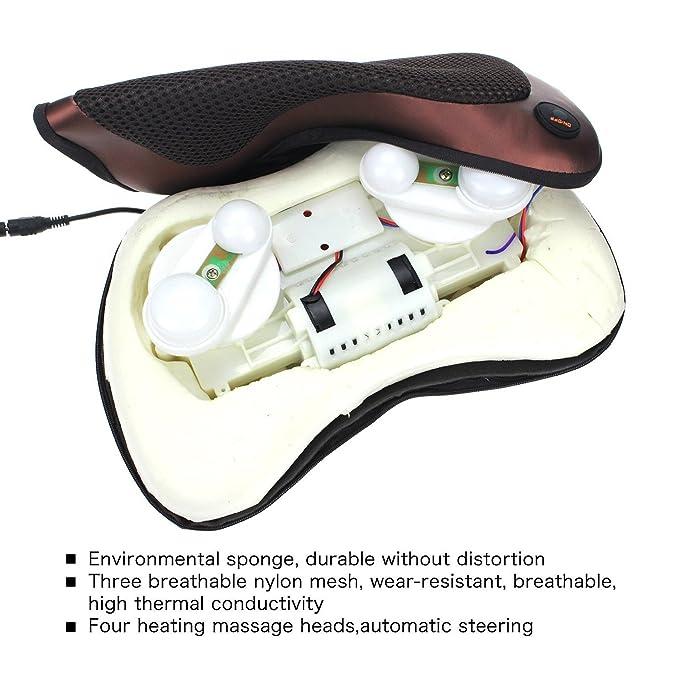 HOP LINK ZMA-13-BK FDA Listed Shiatsu - Masajeador de ...