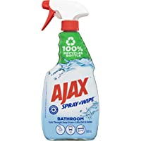 Ajax Spray n' Wipe Bathroom Antibacterial Disinfectant Household Cleaner Trigger Surface Spray Fresh Burst Made in…