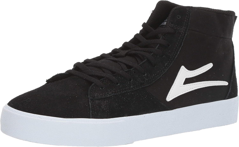 Lakai Newport Chaussures Pour Homme Chaussures-en Daim Noir Toutes Tailles
