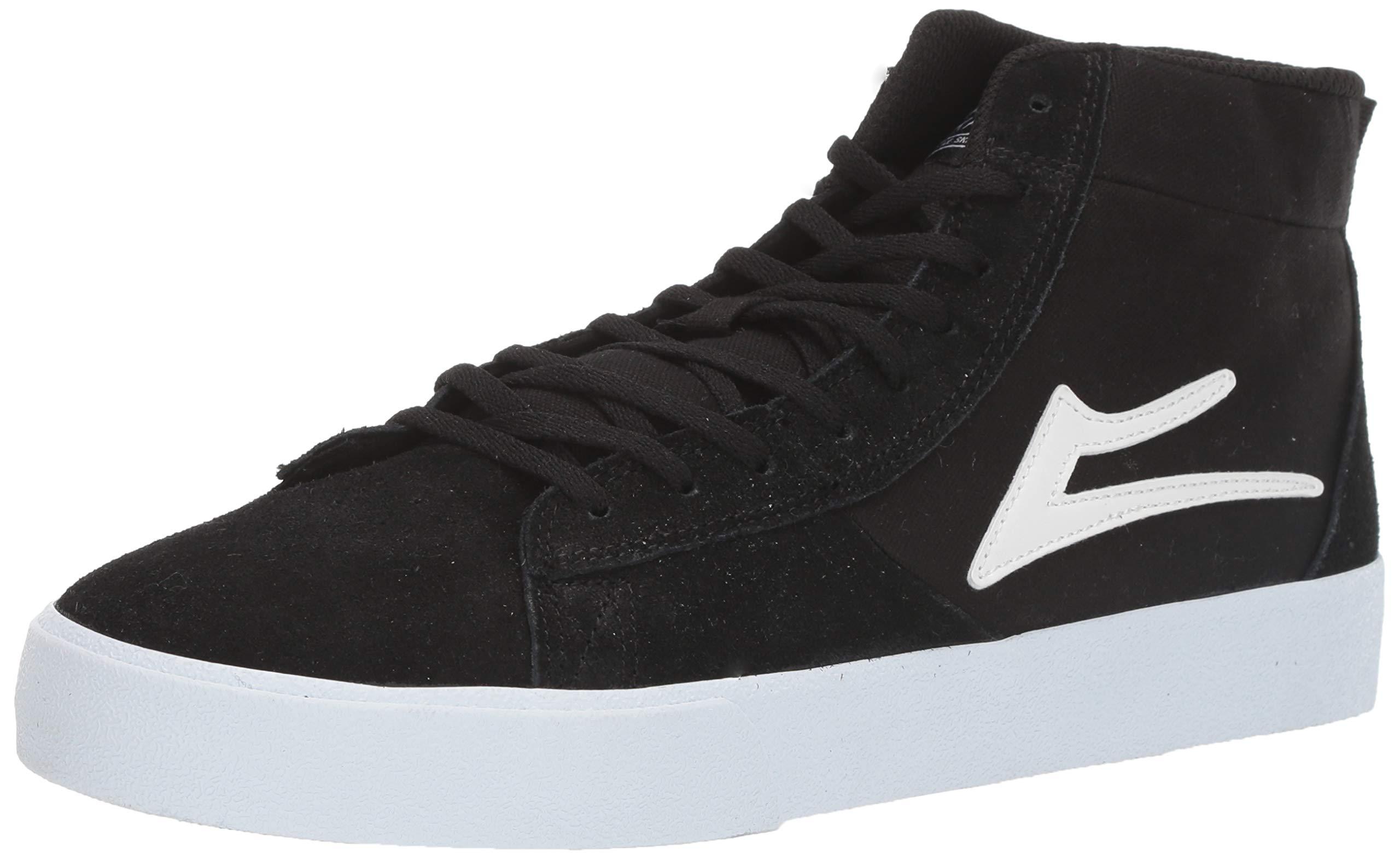 Lakai Limited Footwear Mens Newport HIGH Skate Shoe Black Suede 10 M US by Lakai Limited Footwear Mens
