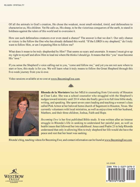 Becoming Ewe: Rhonda de la Moriniere: 9781512718782: Amazon