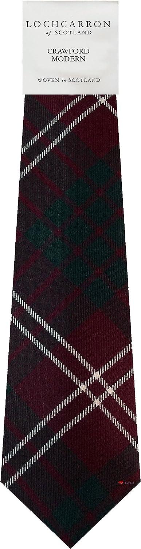 Scottish 100 /% Authentic Wool Tartan Crawford Modern Scarf New !