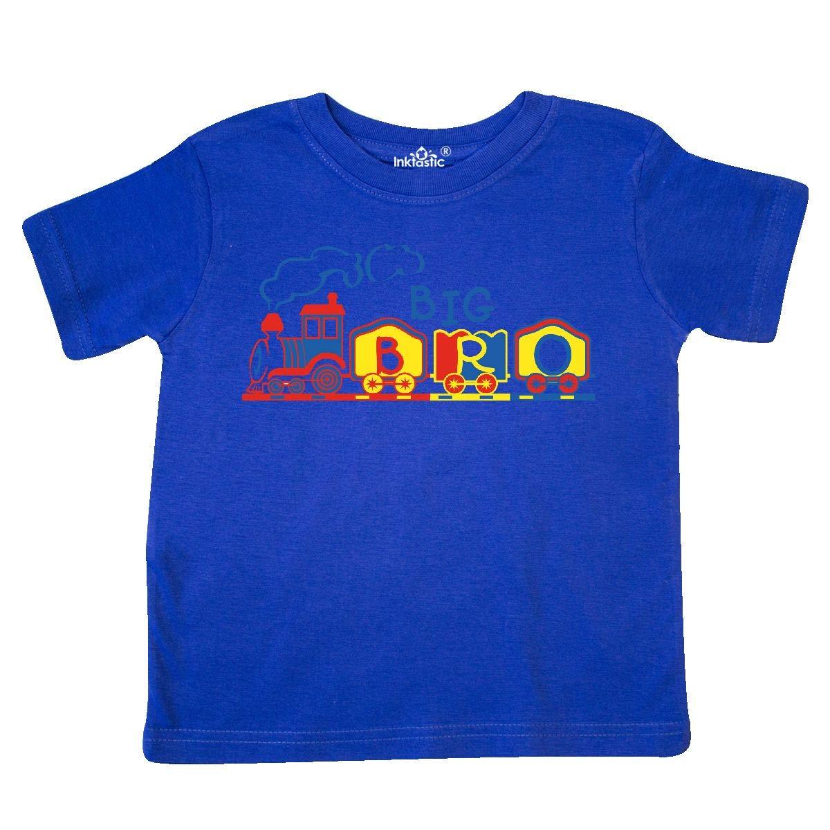 inktastic Train Big Bro Toddler T-Shirt
