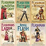 The Flashman Papers Series George MacDonald Fraser Collection 7 Books Bundle (Flashman on the March, Flashman and the Dragon, Flashman and the Angel of the Lord, Flashman in the Great Game..