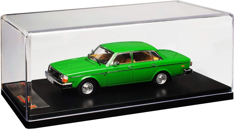 Volvo 244 Limousine Grün 1974-1993 1//43 IXO PremiumX Modell Auto mit oder ohne i