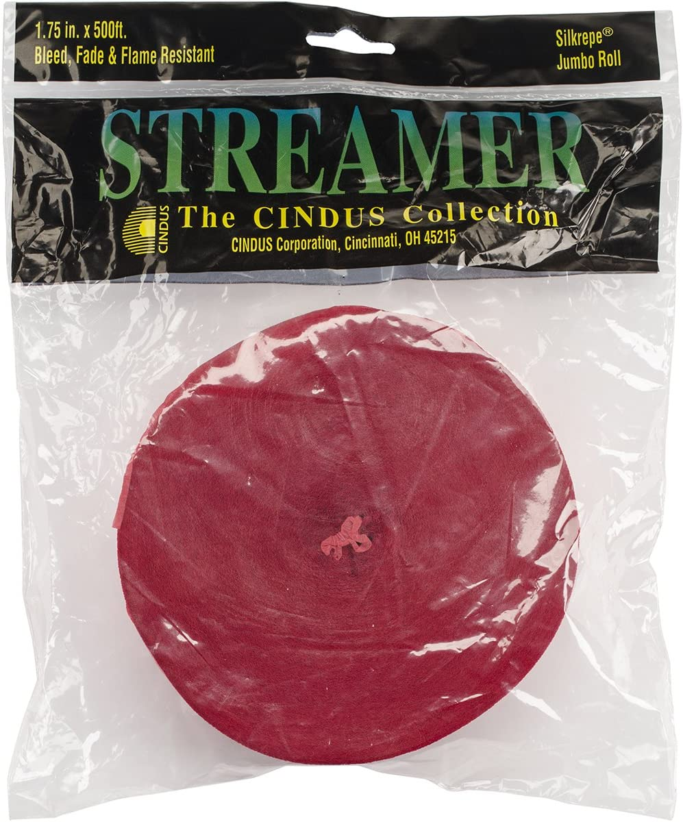 1 per package by Cindus Gold Streamer--500 Ft.