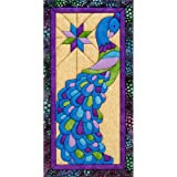 Quilt Magic Peacock Quilt Magic Kit, 9.5-Inch x 19-Inch
