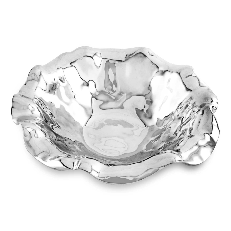 Beatriz Ball Large Vento Alba Bowl, Metallic