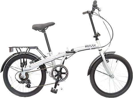 Bicicleta de la marca Reflex Tempus, con ruedas de 50 cm, con 6 ...