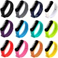 honecumi Colorful Strap Replacement for Mi Band Xiaomi 3/ Xiaomi 4 Watch Band Wrist Strap Bracelet Solid&Pattern Xiaomi Mi Band 3/4 Smartwatch Strap Bands for Men&Women-Xiaomi 3/ Xiaomi 4Wrist Band