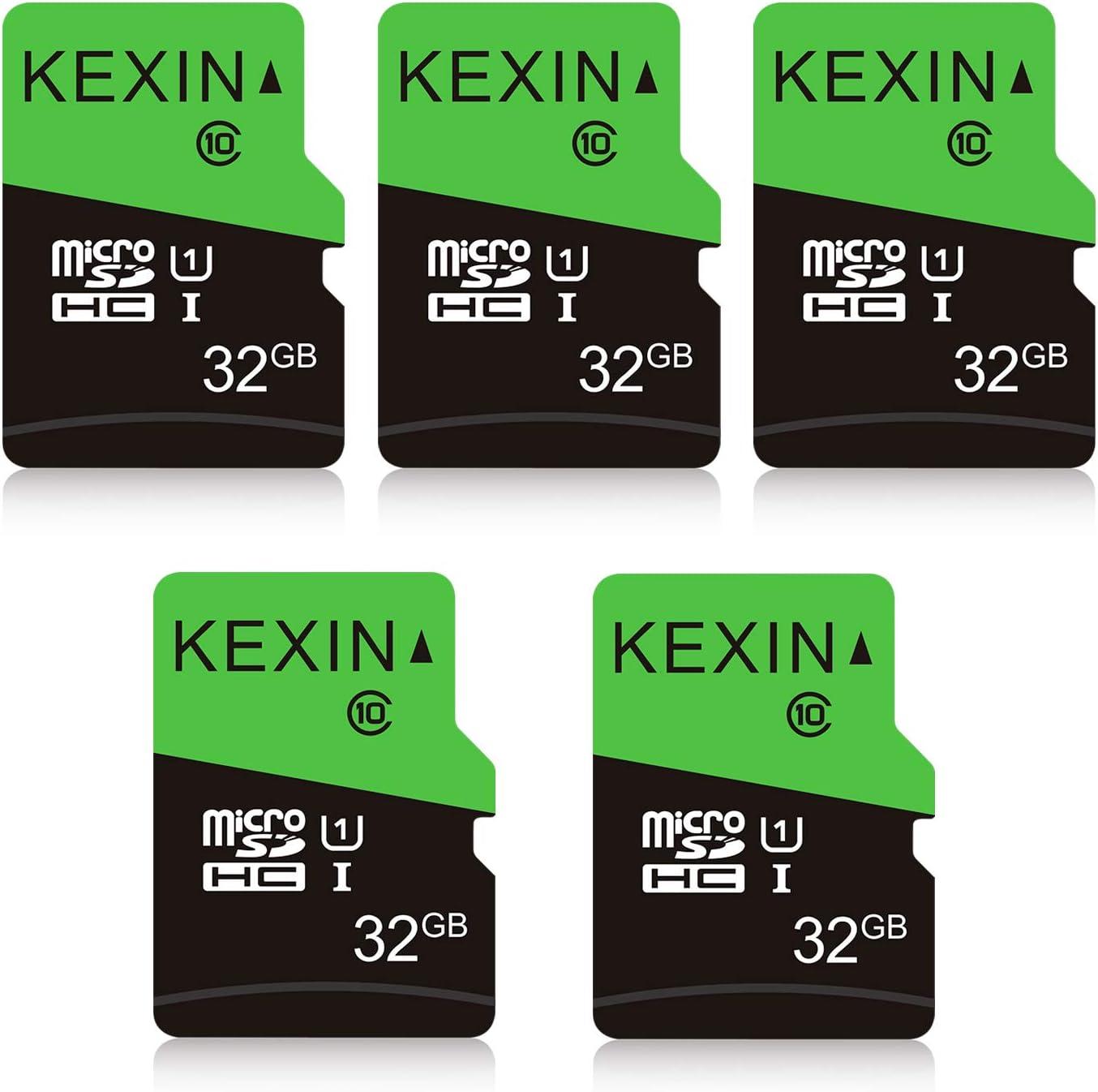 Kexin 32gb Micro Sd Karte 5 Stück Uhs I Microsdhc Computer Zubehör