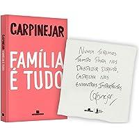 Família É Tudo + Pano de Prato Autografado com Frase