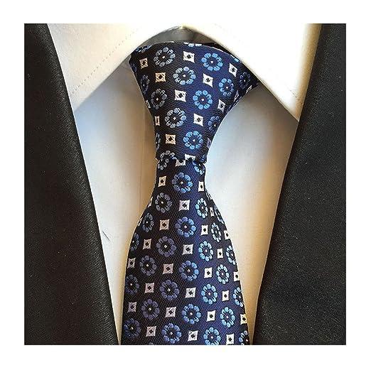 Kleidung & Accessoires Purple Flower Tie Patterned Handmade 100% Silk Wedding Necktie 8cm Width Herren-accessoires