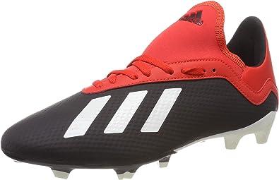 adidas x 18.3 fg noire chaussures de football homme