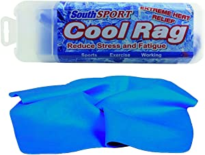 "The Original Cooling Towel for Extreme Heat Relief (Blue) 27"" by 17"""