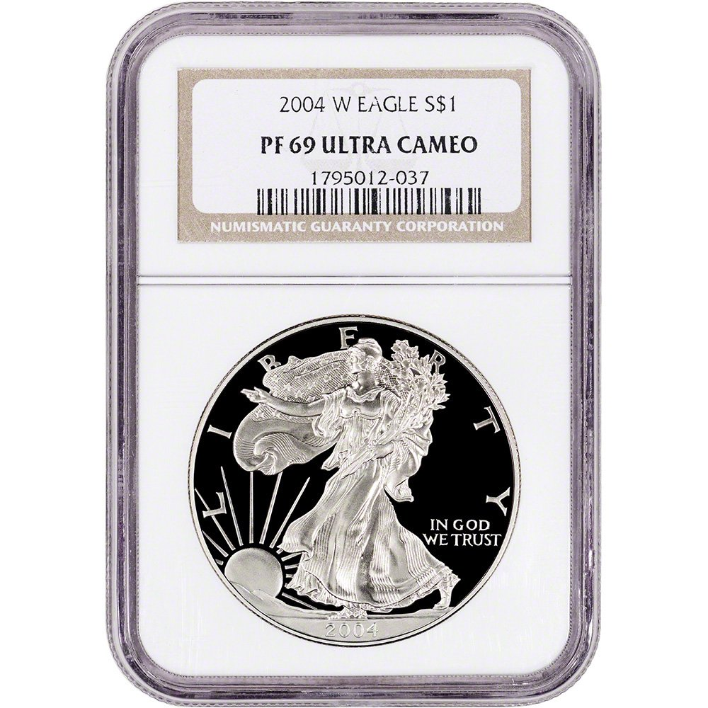 Early Releases Purple Black 2017-W American Silver Eagle Proof NGC PF69 UCAM