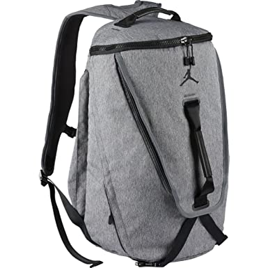 0d94295f683 Jordan JORDAN TOP LOADER unisex-adult backpacks BA8063-063_MISC - DK GREY  HEATHER/BLACK: Amazon.co.uk: Clothing