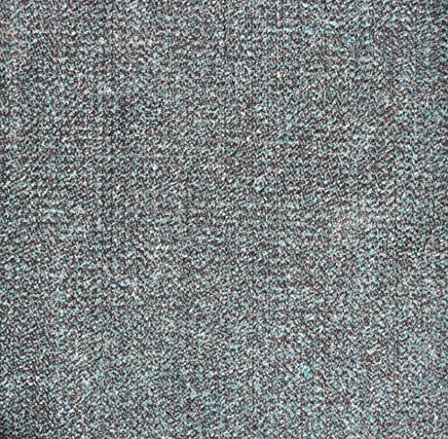 Boucle Azure Fabric by the Yard, Upholstery, Plain Weave, Solid, (Weave Upholstery Fabric)