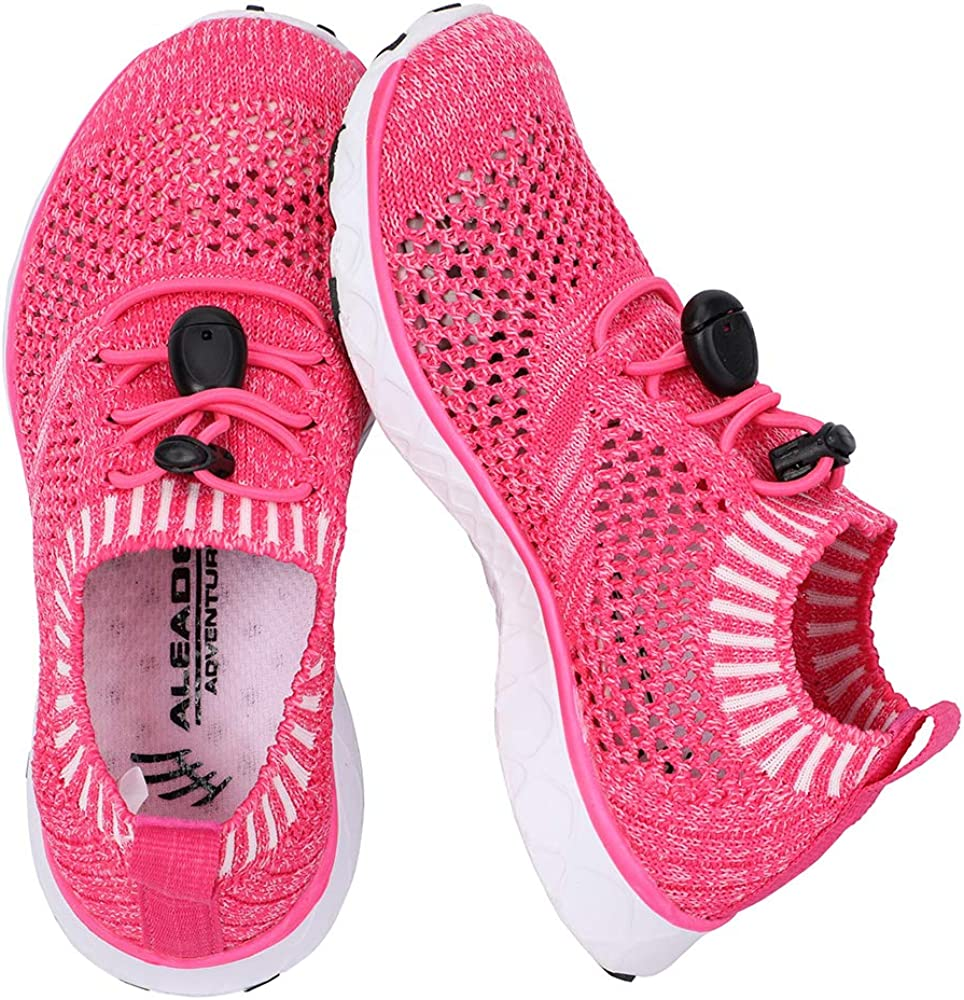 Toddler//Little Kid//Big Kid ALEADER Kids Slip-on Quick Dry Water Shoes