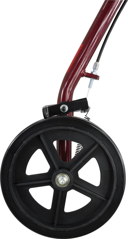 Amazon.com: ProBasics - Andador de 4 ruedas con ruedas de 8 ...