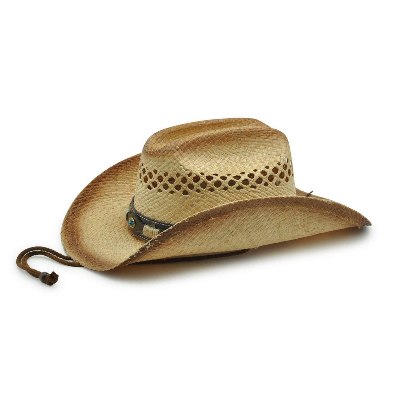 AccessHeadwear Old Stone Outback 9 Men's Women's Unisex Cowboy Drifter Style Hat 2402789