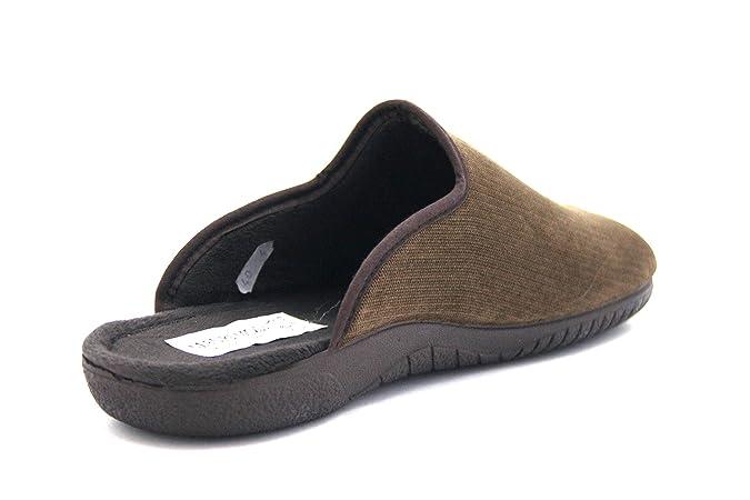 Pregunta IEBAC2977 002 Kaki Scarpa Uomo Ciabatta Pantofola Mauri Moda   Amazon.it  Scarpe e borse e3f9424b4da
