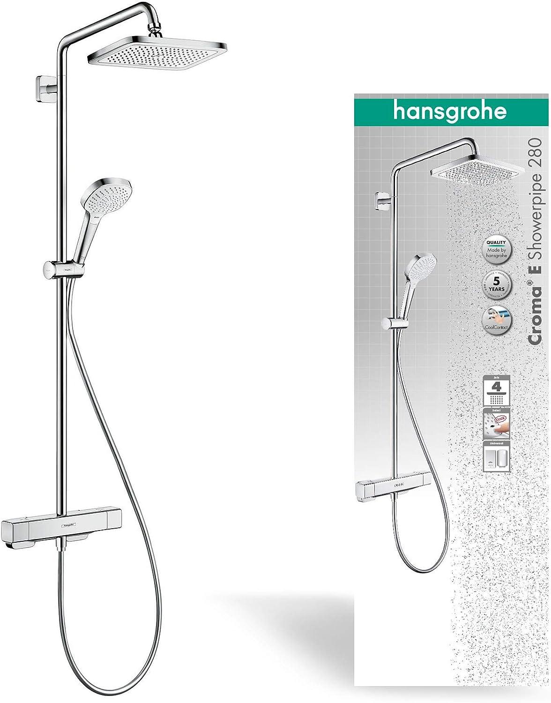 hansgrohe 27630000 Bañeras y duchas - porcelana, cromo: Amazon.es ...