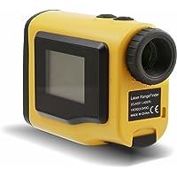 Posma GF600 Telémetro de golf - Telescopio -600m. Modos externos del telémetro láser LCD ajustable,Modo pendiente y niebla.Modo de compensación de distancia para golf. Amarillo.