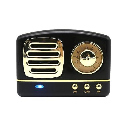 Review Mini Vintage Bluetooth Speaker,Wireless