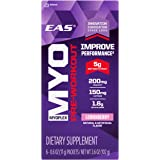 EAS Myoplex Pre-Workout Powder Stickpacks, Lemonberry, 6 Count
