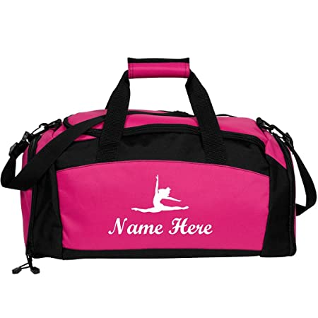 Custom Name Dance Bag Gym Duffel Bag