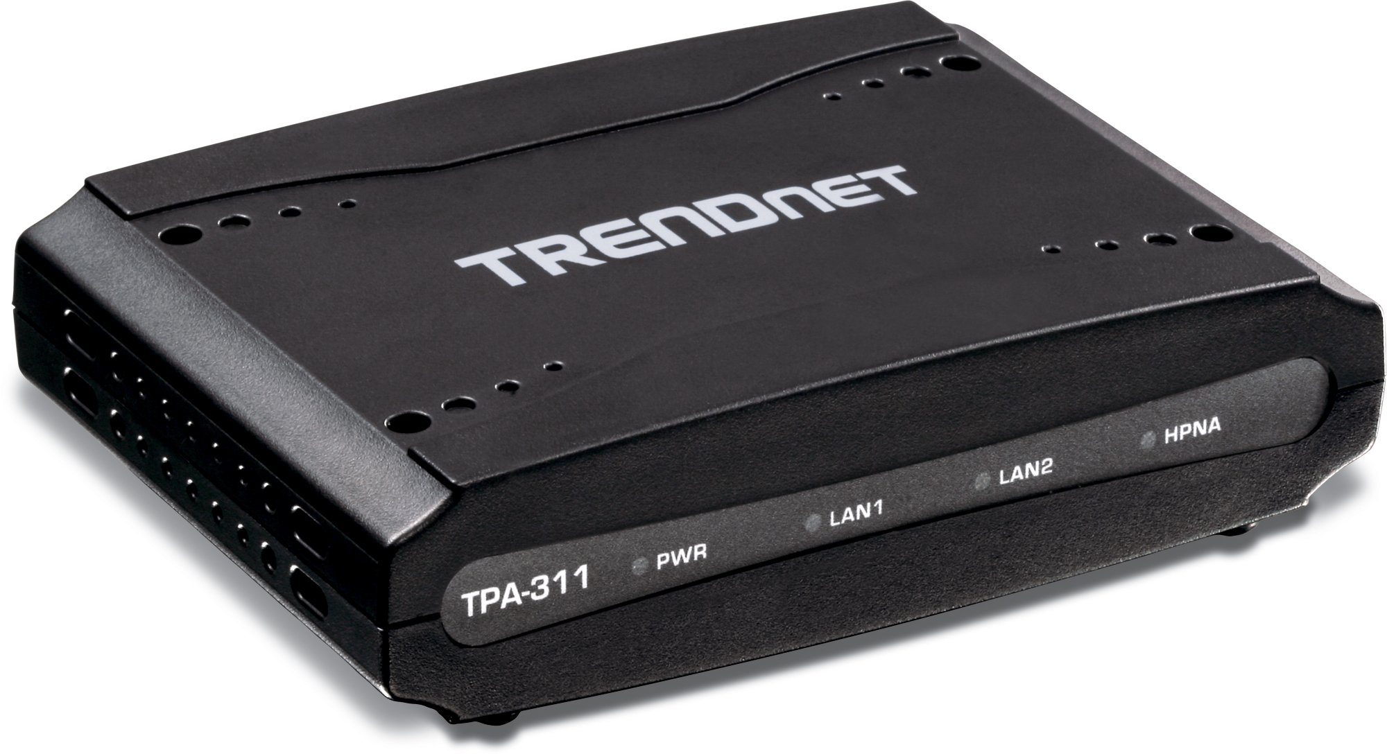 TRENDnet Mid-Band HPNA Coaxial Network Adapter, Data Transmission rates up to 256Mbps over Distances up to 1600M (5,200 Ft.), TPA-311 by TRENDnet