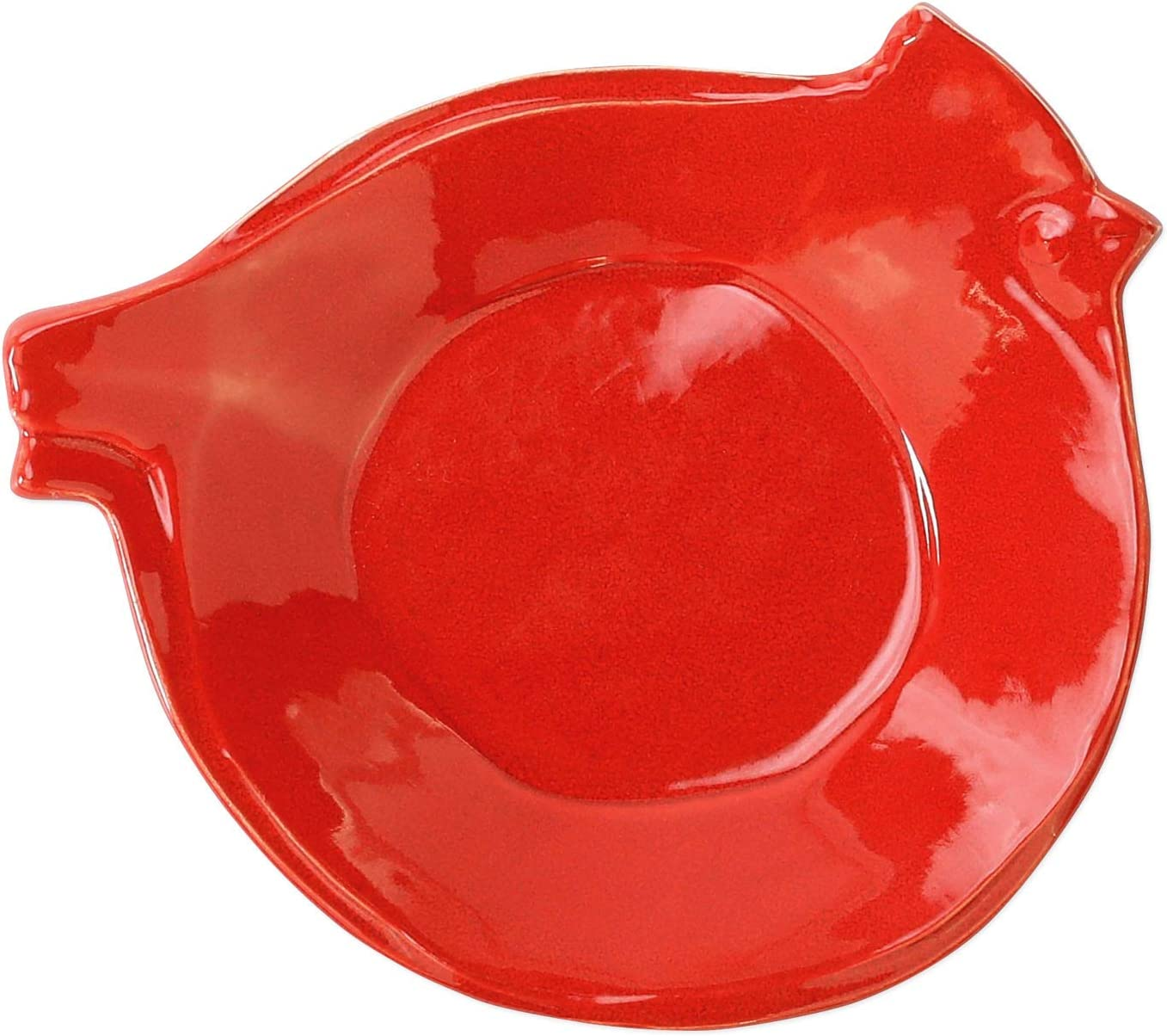 Lastra Holiday Figural Red Bird Canape Plate Plates