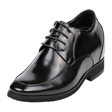 4 Inch Men High Heel Hidden Insole Lifted Dress Height Shoes To Grow Tall  KN41
