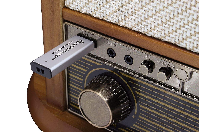 Soundmaster NR546BE Radio Digital estéreo Dab+/FM Vintage ...