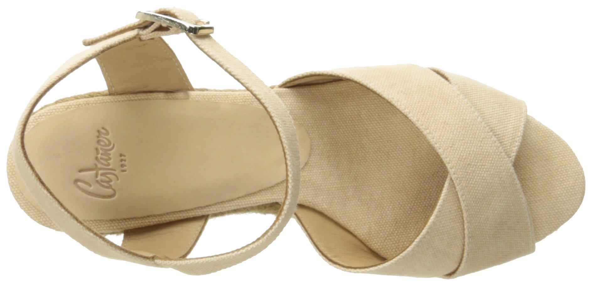 Castaner Women's Blaudell Platform Sandal, Nude (Beige), 37 EU/6.5 N US by Castaner (Image #8)