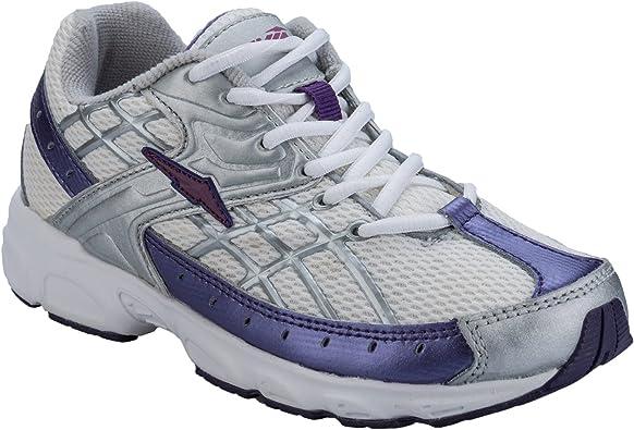 Avia - Zapatillas de Cuero para niña Blanco Blanco: Avia: Amazon.es: Zapatos y complementos