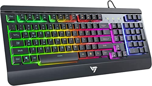 VicTsing Gaming Keyboard USB Wired Keyboard